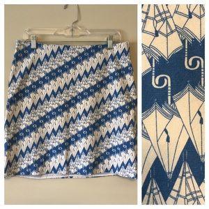 Talbots Umbrellas Skirt